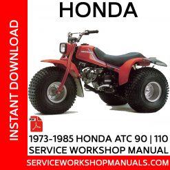 1973-1985 Honda ATC 90   110 Service Workshop Manual