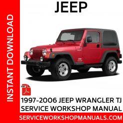 1997-2006 Jeep Wrangler TJ Service Workshop Manual