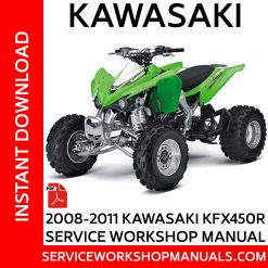 2008-2011 Kawasaki KFX450R Service Workshop Manual