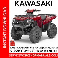 2008 Kawasaki Brute Force KVF 750 4X4-i