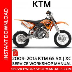 2009-2015 KTM65 SX-XC Service Workshop Manual