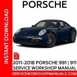 2011-2018 Porsche 911 | 991 Service Workshop Manual