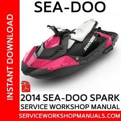 2014 Sea-Doo Spark Service Workshop Manual