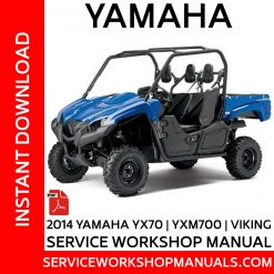 2014 Yamaha YX70 | YXM700 | Viking Service Workshop Manual