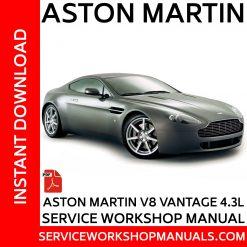 Aston Martin V8 Vantage 4.3L Service Workshop Manual