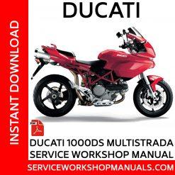 Ducati 1000DS Multistrada Service Workshop Manual
