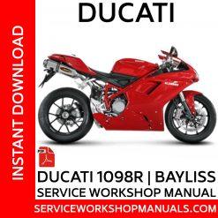Ducati 1098R | Bayliss Service Workshop Manual