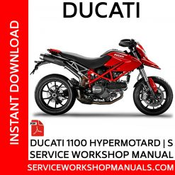 Ducati 1100 Hypermotard | S Service Workshop Manual