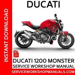 Ducati 1200 Monster Service Workshop Manual