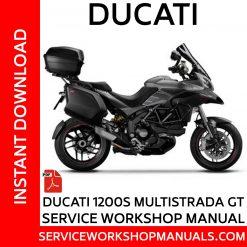 Ducati 1200S Multistrada GT Service Workshop Manual