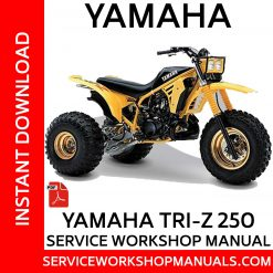 Yamaha Tri-Z YZ250 Service Workshop Manual