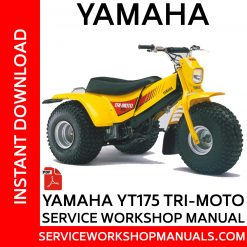 Yamaha YT175 Tri-Moto Service Workshop Manual