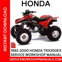 1993-2000 Honda TRX300EX Service Workshop Manual