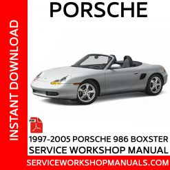 Porsche Boxster 986 1997-2005 Service Workshop Manual