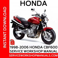 1998-2005 Honda CB600F Hornet Service Workshop Manual