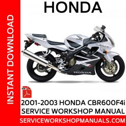 Honda CBR600F4i 2001-2003 Service Workshop Manual
