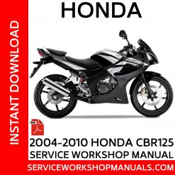 2004-2010 Honda CBR125R Service Workshop Manual