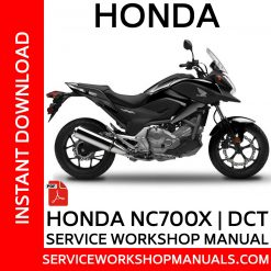 Honda NC700X Service Workshop Manual