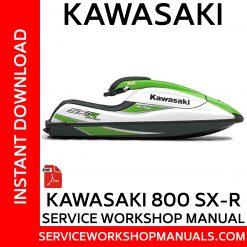 Kawasaki 800 SX-R Service Workshop Manual