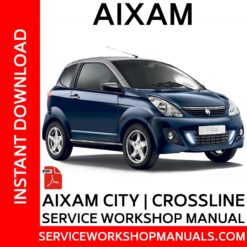Aixam City | Crossline Service Workshop Manual