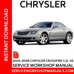 Chrysler Crossfire 3.2L V6 2004-2008 Service Workshop Manual