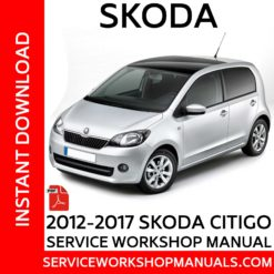 Skoda Citigo 2012-2017 Service Workshop Manual