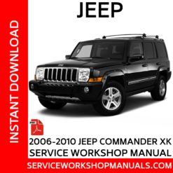 Jeep Commander XK 2006-2010 Service Workshop Manual