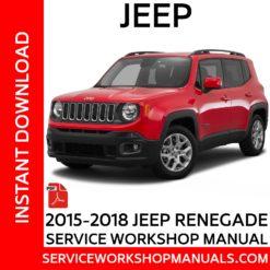 Jeep Renegade 2015-2018 Service Workshop Manual