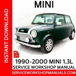 Rover Mini 1.3L 1990-2000 Service Workshop Manual