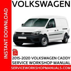 Volkswagen Caddy 2K 2015-2020 Service Workshop Manual