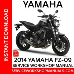 Yamaha FZ-09 2014 Service Workshop Manual