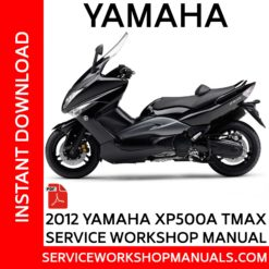 Yamaha XP500A TMAX 2012 Service Workshop Manual