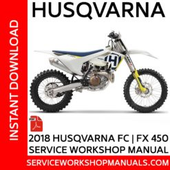 Husqvarna FC | FX 450 2018 Service Workshop Manual