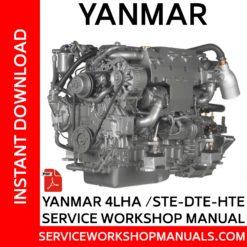 Yanmar 4LHA /STE-DTE-HTE Service Workshop Manual