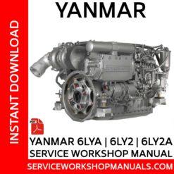 Yanmar 6LYA | 6LY2 | 6LY2A Service Workshop Manual