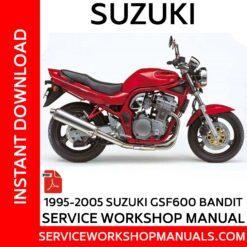 Suzuki Bandit GSF600 1995-2005 Service Workshop Manual