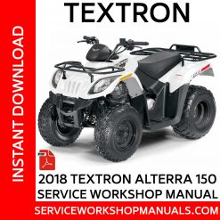 Textron Alterra 150 2018 Service Workshop Manual