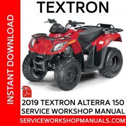 Textron Alterra 150 2019 Service Workshop Manual