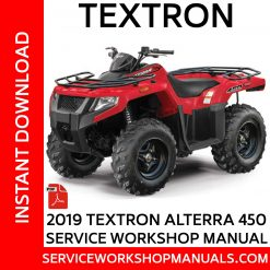 Textron Alterra 450 2019 Service Workshop Manual