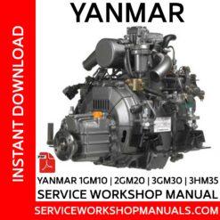 Yanmar 1GM10 | 2GM20 | 3GM30 | 3HM35 Service Workshop Manual