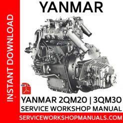 Yanmar 2QM20 | 3QM30 Service Workshop Manual