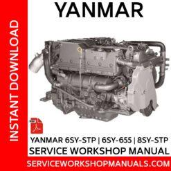 Yanmar 6SY-STP | 6SY-655 | 8SY-STP Service Workshop Manual