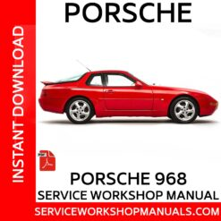 Porsche 968 Service Workshop Manual